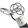 Alfa Romeo Schlüsselanhänger schwarz braun Original Merchandising