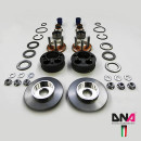 Abarth Punto Alfa Romeo MiTo DNA Racing Uniball Domlager Aluminium verstellbar