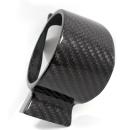 Abarth 500 Koshi Ladedruckanzeigencover Carbon