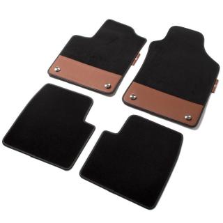 Abarth 500 595 Fußmatten Handschalter braun MOPAR Originalzubehör